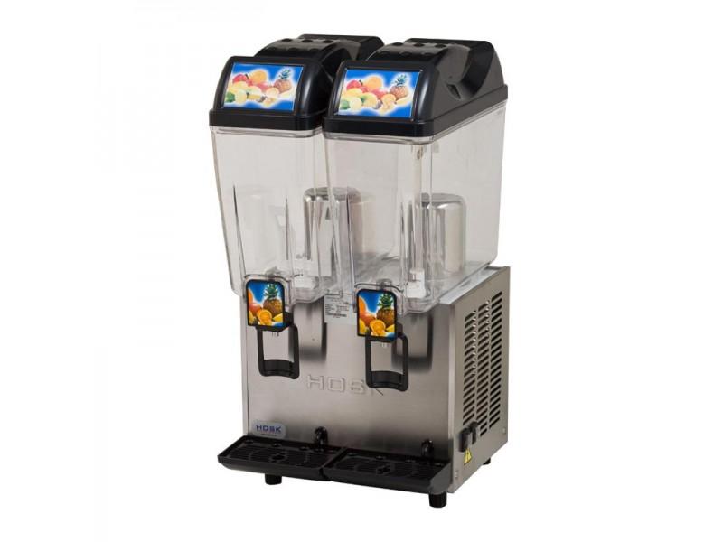 Hosk İkili Limonata Şerbet - Ayran Makinesi 2x20 lt