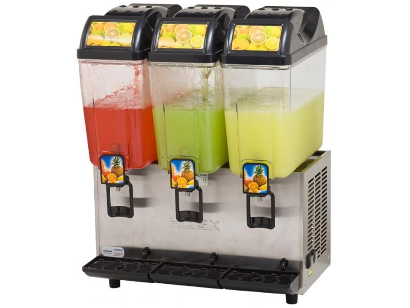 Hosk Üçlü Limonata Şerbet - Şerbet - Ayran Makinesi 3x20 lt