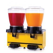 Samixir 2'li Ayran - Meşrubat Makinesi - 44 Litre Sarı Gövde A+A