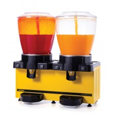Samixir 2'li Şerbet - Limonata Makinesi - 44 Litre Sarı Gövde Ş+Ş
