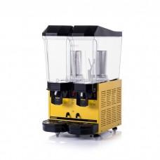 Samixir 2'li Şerbetlik Ayran Soğutma Makinesi - 2 x 20 litre Sarı Gövde S+A