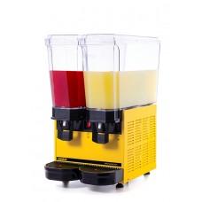 Samixir 2'li Ayran - Meşrubat Makinesi - 40 Litre Sarı Gövde A+A