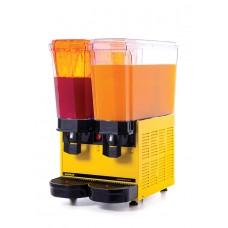 Samixir 2'li Şerbet - Ayran Makinesi 40 Litre Sarı Gövde Ş+A