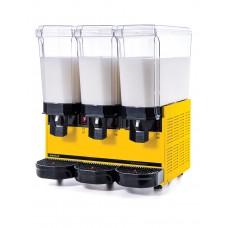 Samixir 3'lü Ayran - Meşrubat Makinesi - 60 Litre Sarı Gövde A+A+A