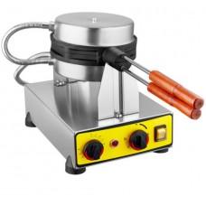 Remta Kapaklı Çevirmeli Yuvarlak Bubble Pankek Makinası Elektrikli