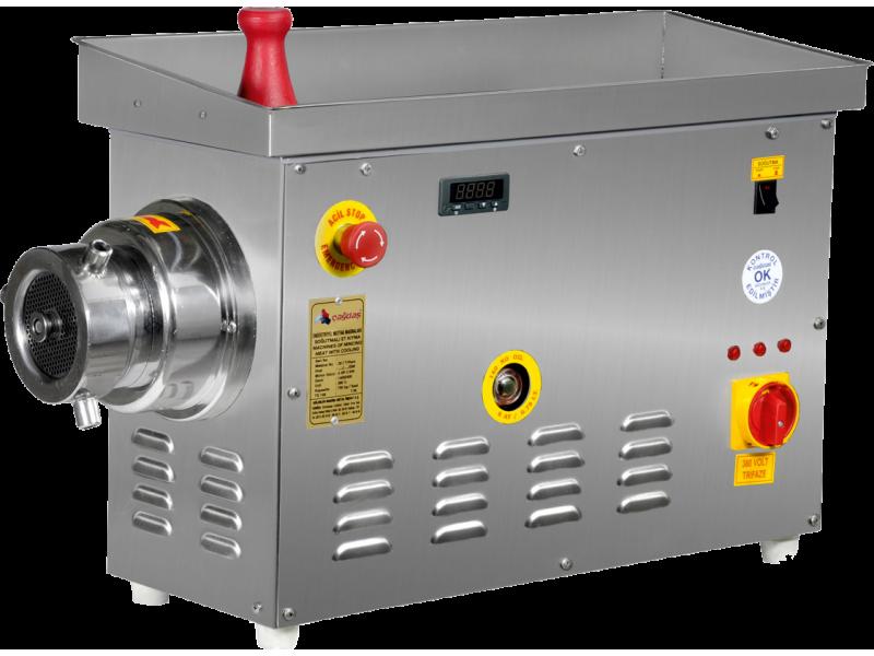 Çağdaş 22 No Paslanmaz Soğutmalı Kıyma Makinesi KOMPLE PASLANMAZ