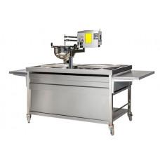 Lokma Makinesi -  Çift Pişiricili Gazlı Lokma Tezgahı