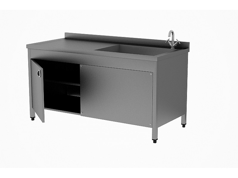 Alçı Hazırlık Masası - Paslanmaz Çelik Alçı Masası