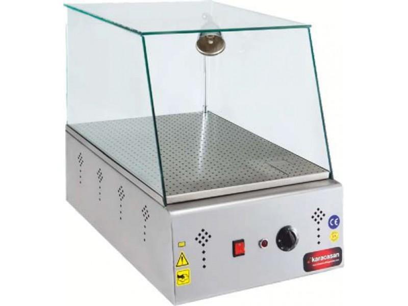 Karacasan set üstü ıslak hamburger makinası - Elektrikli, 40'lık