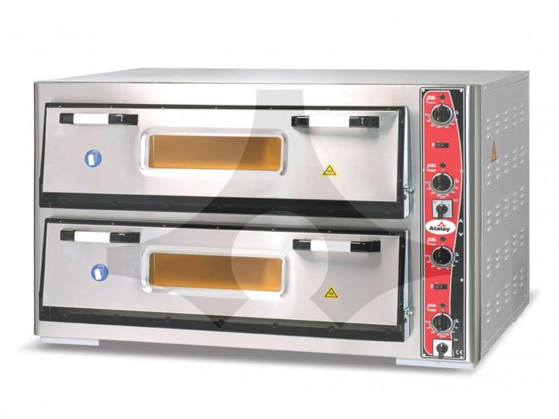 Atalay Çift Katlı Pizza Fırını 30 cm x 18 Pizza APF-92-2