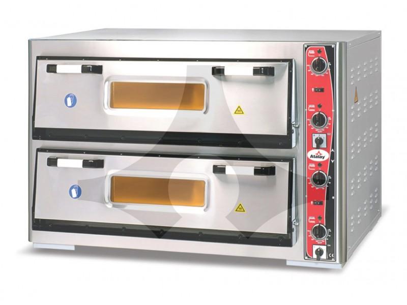 Atalay Çift Katlı Pizza Fırını 30 cm x 12 Pizza APF-962-2