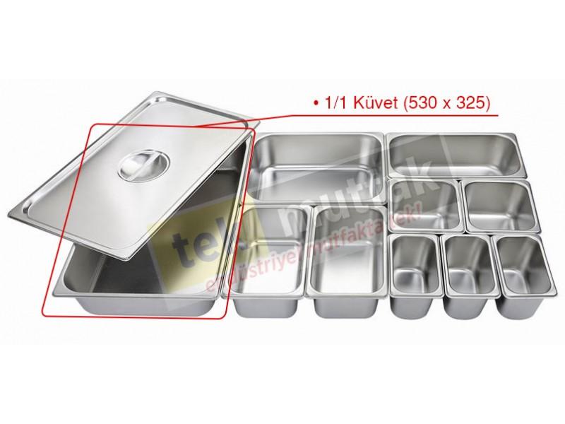 Gastronom Küvet 1/1 - 100 mm