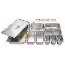 Gastronom Küvet 1/4 - 100 mm