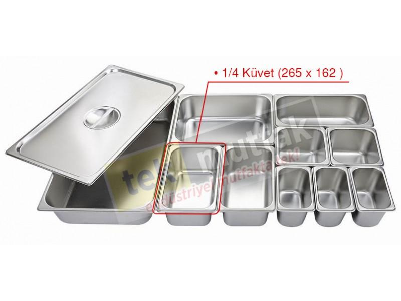 Gastronom Küvet 1/4 - 40 mm