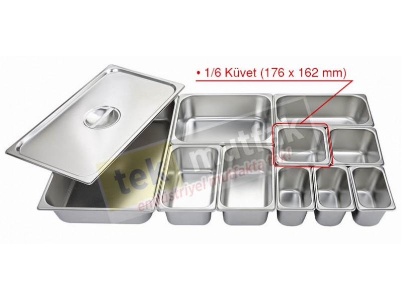 Gastronom Küvet 1/6 - 65 mm