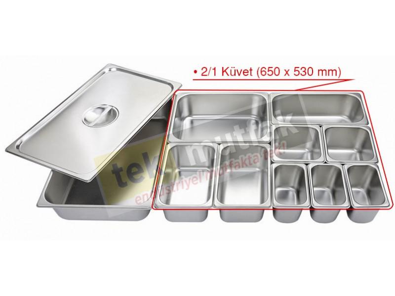 Gastronom Küvet 2/1 - 100 mm