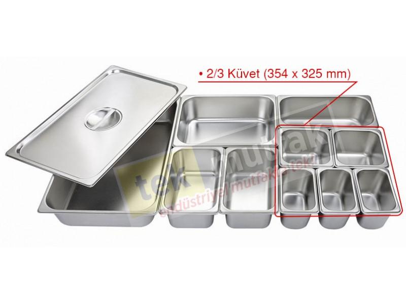 Gastronom Küvet 2/3 - 65 mm