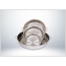 Yürük - Çelik Süzgeç - 36 x 10 cm