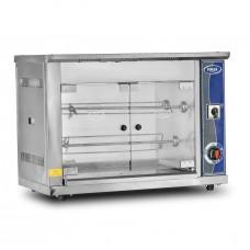 Pimak 6'lı Piliç Çevirme Makinesi Set Üstü Gazlı M001