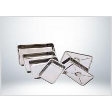 Buzdolabı Küveti, Meze Küveti 18x28 Kapaklı Paslanmaz Çelik 304