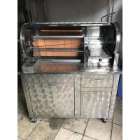 Kokoreç Tezgahı - Kubbeli Kokoreç Tezgahı - 120 cm