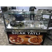 Lokma Tezgahı - Saray Lokma İzmir Lokma Tezgahı - 7 Litre lokma makinesi