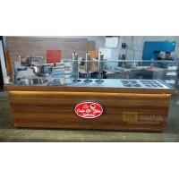 Yeni Nesil Çikolatalı Lokma Tezgahı - 3 Adet Lokma Dolum Makinesi