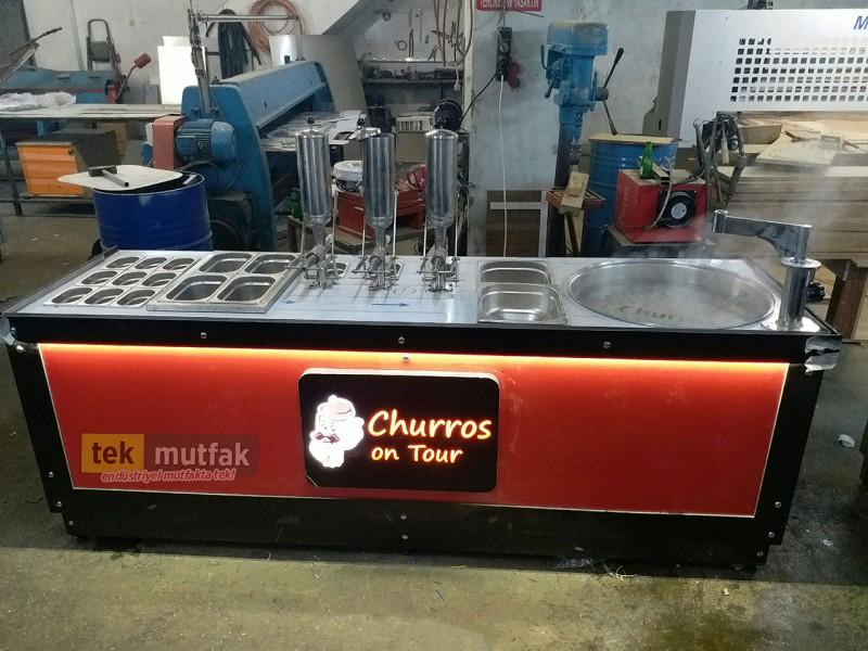 Churro - Churros Tezgahı - Yeni Nesil Lokma Tezgahı