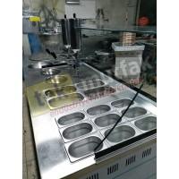 Lokma Tezgahı - Çikolata Dolgu Makineli Yeni Model Lokma Tezgahı