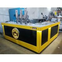 Çikolatalı Lokma Tezgahı - L Model Yeni Nesil Lokma Tezgahı - 3 Adet Lokma Dolum Makinesi