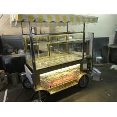 Seyyar Gold Kahvaltı Börek Simit Arabası