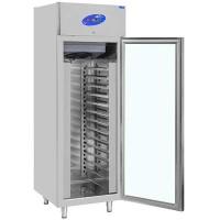 CSA İnox Dikey Buzdolabı - 650 Litre Camlı 304 Paslanmaz