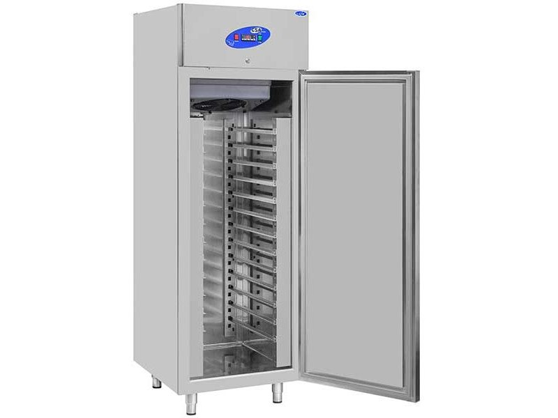 CSA İnox Hamur Dinlendirme Dikey Tip Buzdolabı Raflı - 700 Litre 304 Paslanmaz