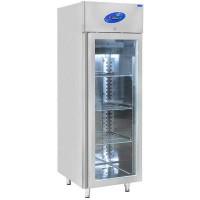 CSA İnox Dikey Tip Buzdolabı - 600 Litre Camlı
