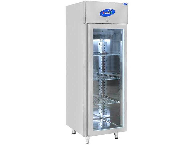 CSA İnox Dikey Buzdolabı - 600 Litre Camlı