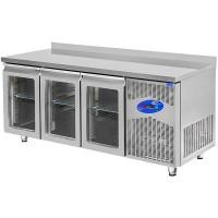 CSA Buzdolabı Tezgah - 400 Litre Camlı