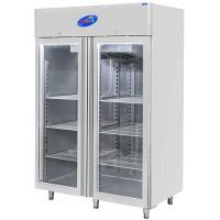 CSA İnox Dikey Tip Buzdolabı - 1400 Litre Camlı 304 Paslanmaz