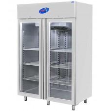 CSA İnox Dikey Tip Buzdolabı - 1400 Litre Camlı