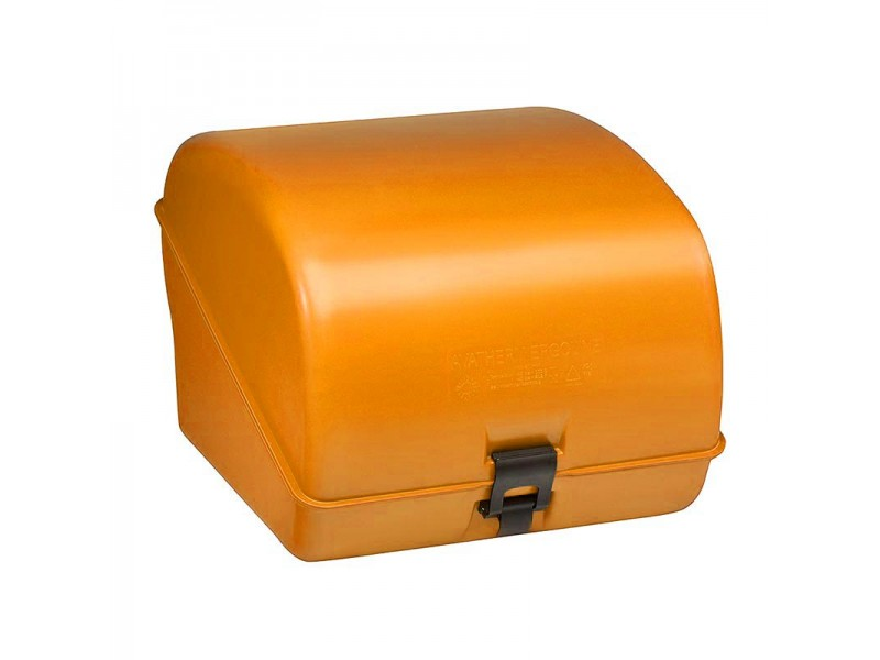 Avatherm Ergoline Motor Arkası Thermobox - Pizzabox Sarı